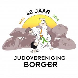 Logo 40 jarig bestaan JVB